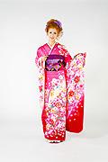 1535 ピンク系 明るいピンク裾赤、リボン、桜柄 tt-b柄 サムネイル